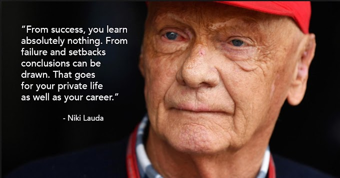 30 Best Niki Lauda Quotes On Life