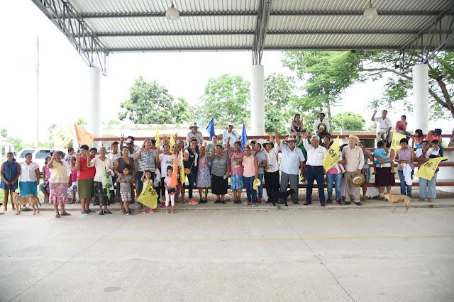 En comunidades de Martínez dan muestra de su total apoyo a Mariely Manterola