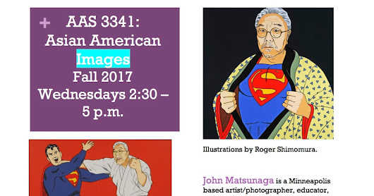 AAS 3341: Asian American Images will be offered for the Fall 2017