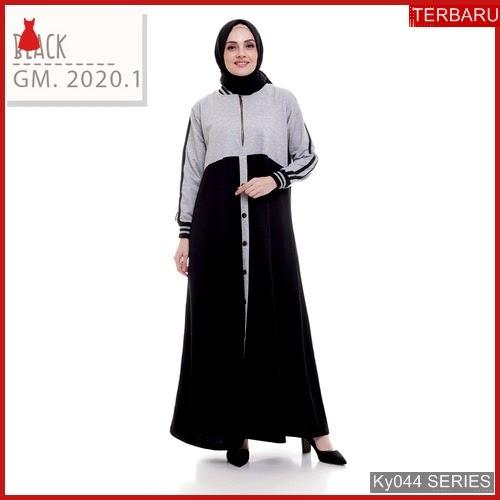 Ky044g60 Gamis Muslim Marwa Murah Dress Bmgshop Terbaru