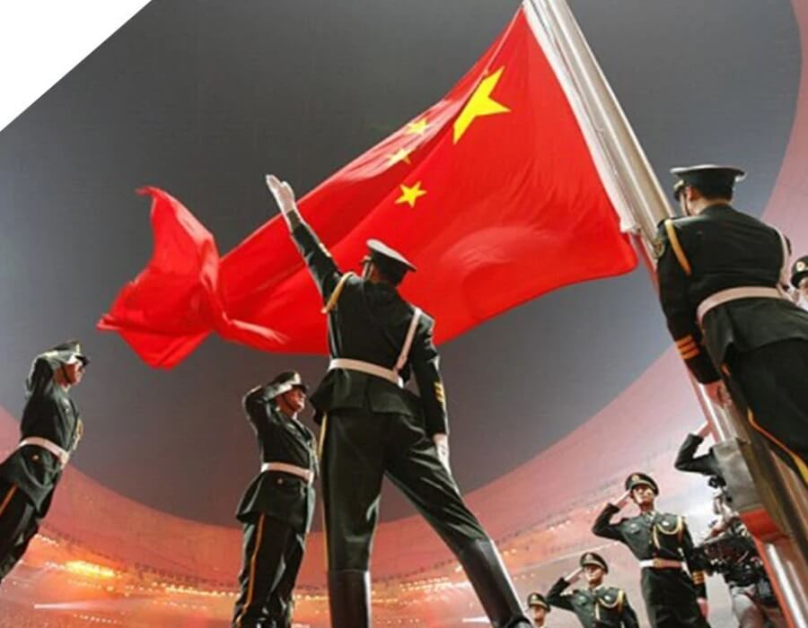 Keangkuhan Komunis China