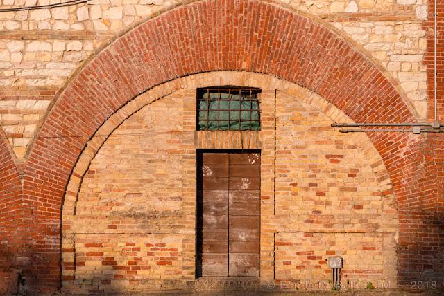Forte Altavilla — Caserne (flanc gauche)