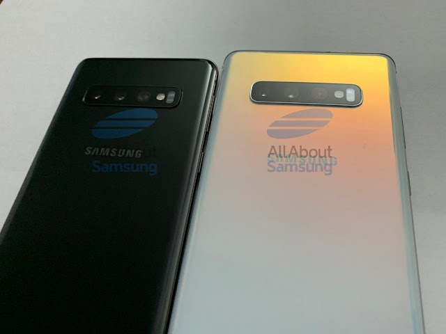 هاتفَي Galaxy S10 بلس وGalaxy S10
