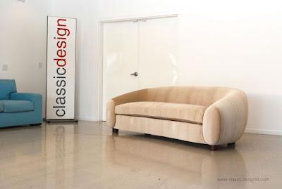 Classic Design Jean Royere Inspired Sofa