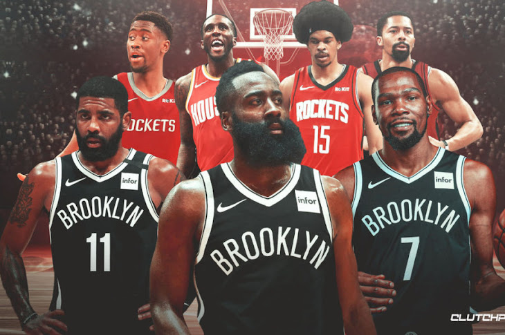 James Harden to Brooklyn Nets in 4-team Deal