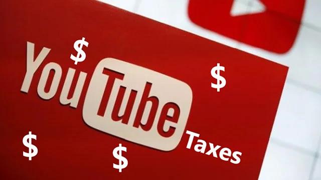 Taxes YouTube : YouTube déduira les taxes des créateurs de contenu.