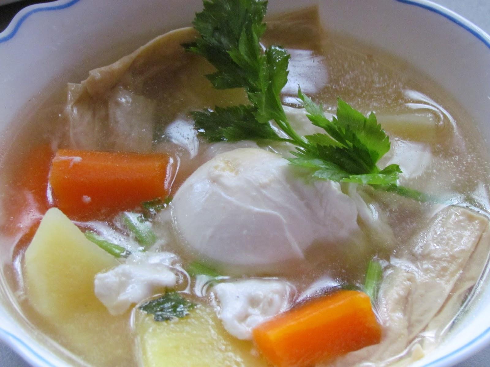 Azura Abd Rahman: Resepi sup telur