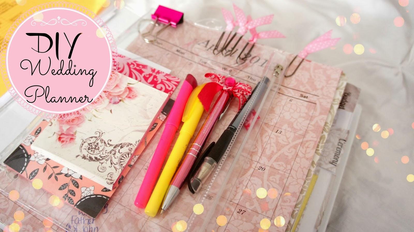 wedding planning time wedding planner binder BelindaSelene DIY Wedding Planner Save Money Time And Stress