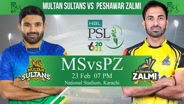 PSL Peshwar Zalmi Vs Multan Sultan Match 5