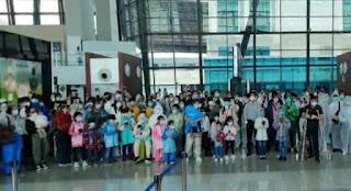 208 WNA Asal China Tertahan di Bandara Soekarno-Hatta, Ditolak Oleh Negaranya