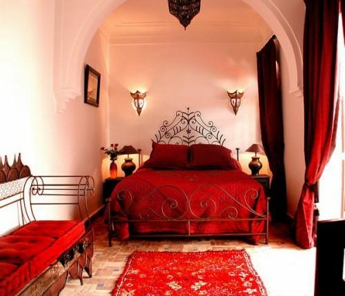 Red Bedrooms Ideas: DORMITORIOS ESTILO MARROQUÍ