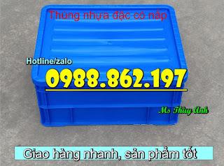 Screenshot 7 thùng nhựa có nắp B8,Thùng nhựa có nắp, thùng nhựa đựng vật tư, thùng nhựa đựng đồ cơ khí