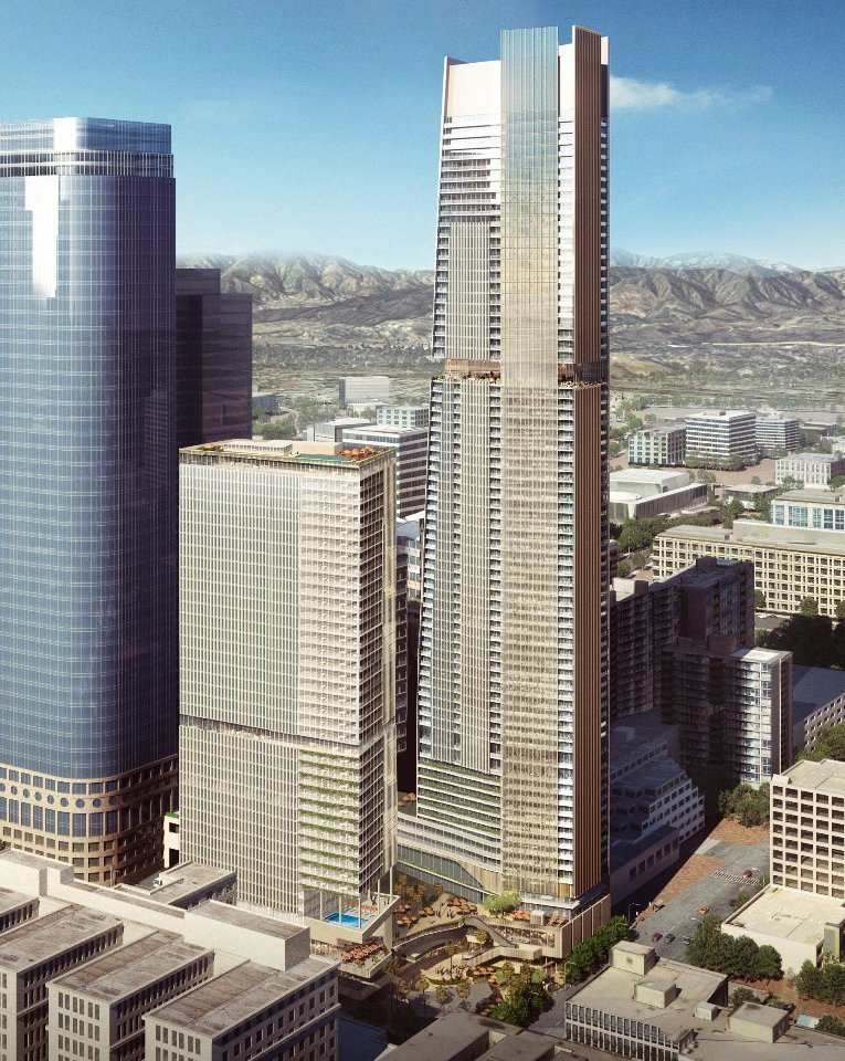 Angels Landing two-tower luxury hotel project in L.A.