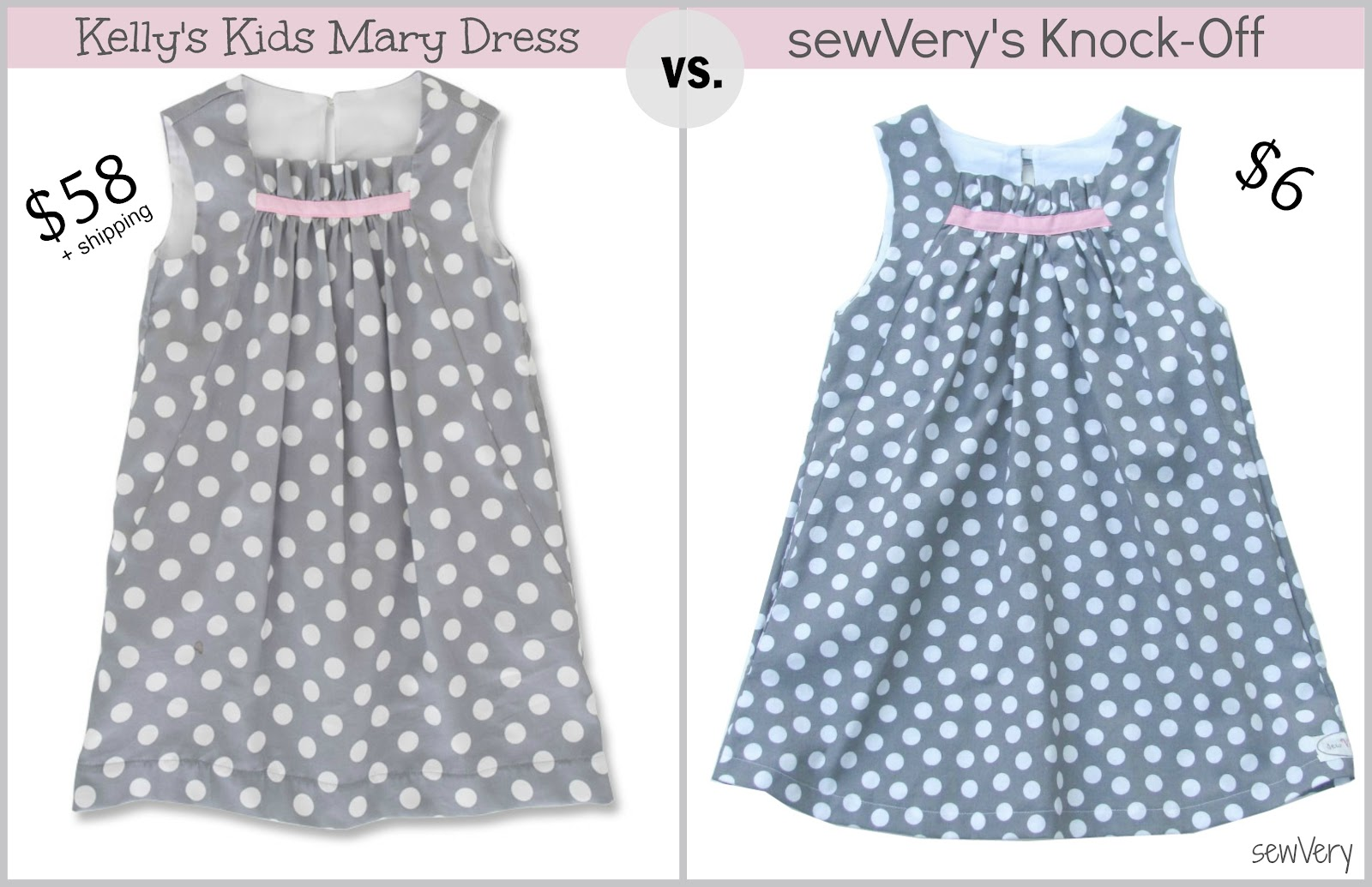 29f430622a098 sewVery: Kelly's Kids Mary Dress: Knock-It-Off Series