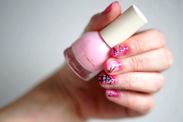 nail art printemps japonais