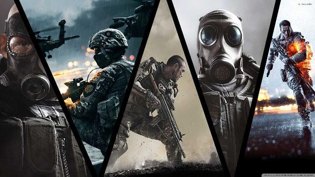 yang bergameplay layaknya seperti kita sedang melihat 21 Game FPS Terbaik PC 2017
