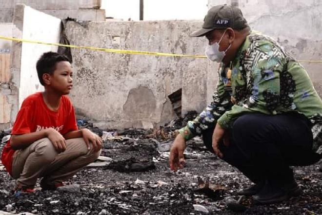Ini Bantuan yang Diberikan Fahsar untuk Para Korban Kebakaran di Lamuru