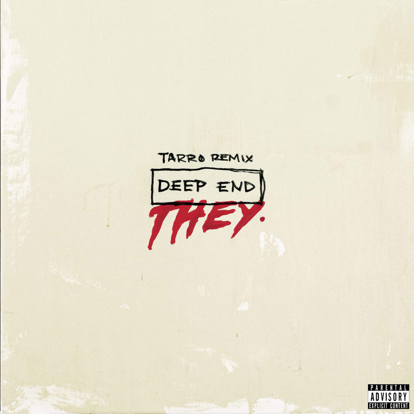 THEY. - Deep End (Tarro Remix) - Single Cover