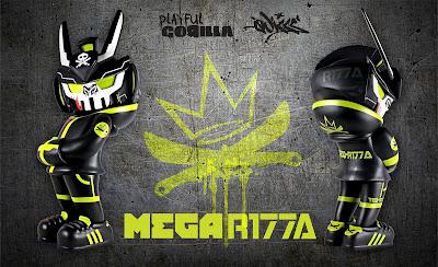 ComplexLand 2.0 Exclusive MEGAR177A MegaTEQ Vinyl Figure by Playful Gorilla x Quiccs x Martian Toys