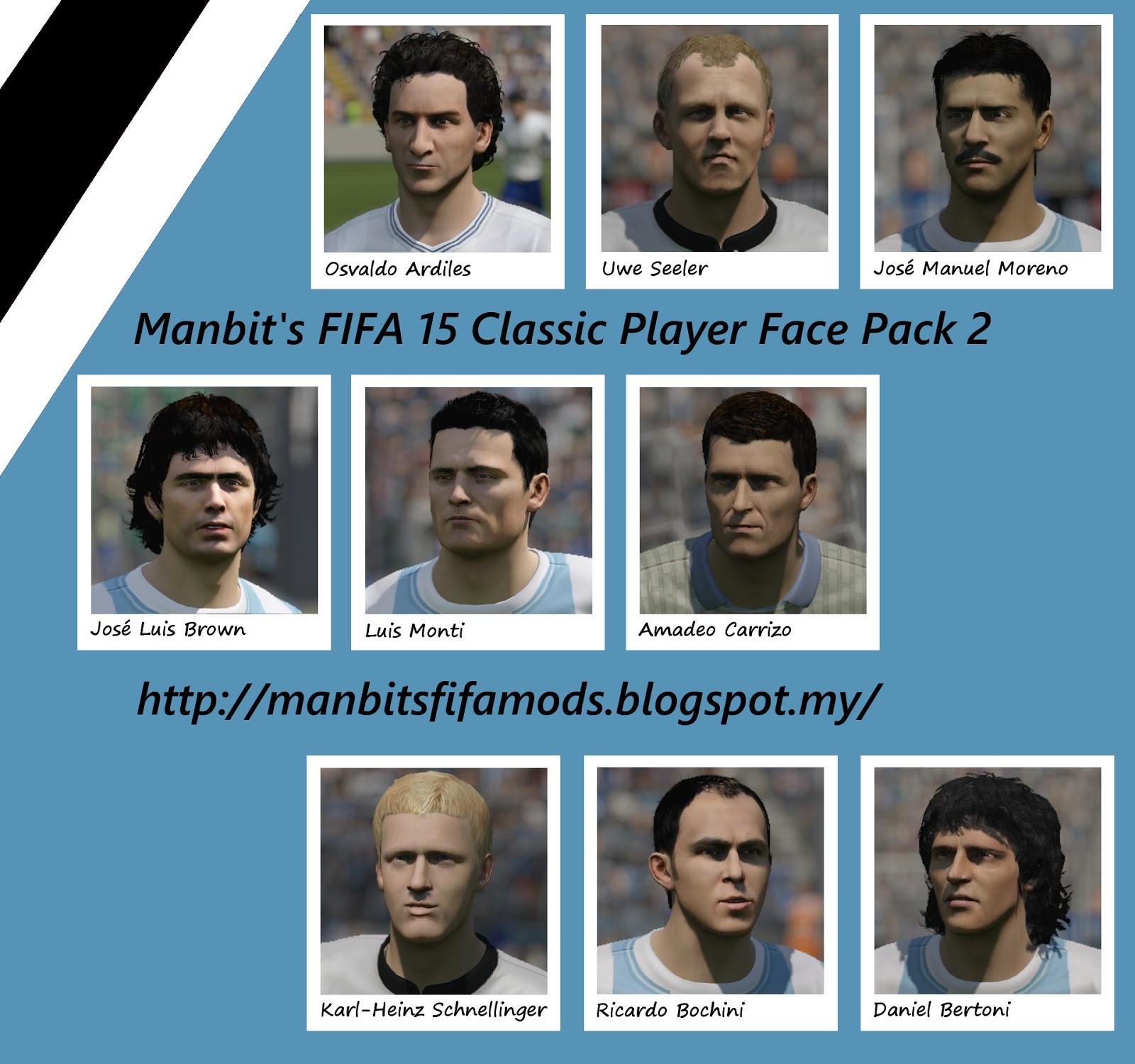 Manbit s EA Sports FIFA mods Manbit s FIFA 15 Classic Player Face