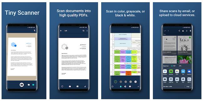 أفضل تطبيقات فحص الوثائق البديلة لتطبيق CamScanner