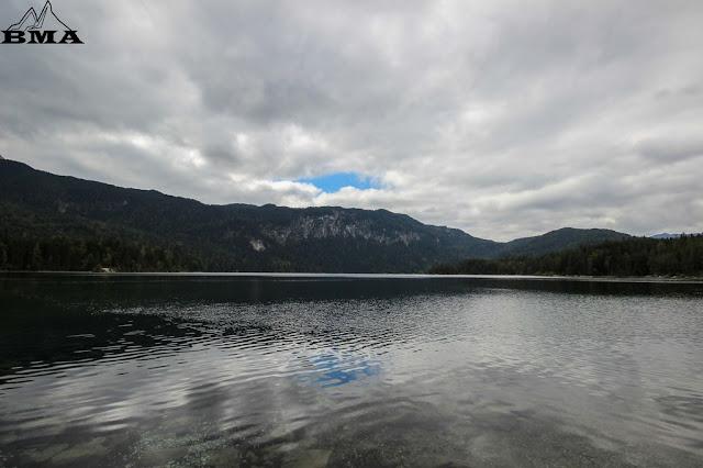 wandern Bayern Deutschland Zugspitze Garmisch wandern BMA rund um den Eibsee