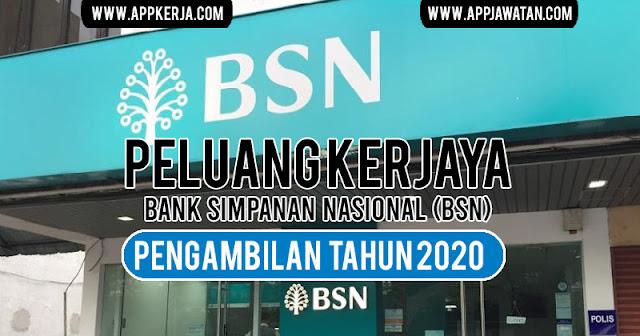 Jawatan Kosong di Bank Simpanan Nasional (BSN).
