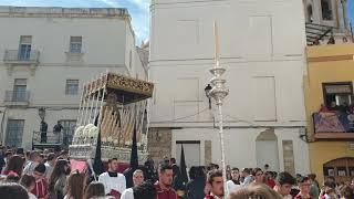María Santísima de la Salud (Hdad Sanidad) por Plaza Fray Félix. Semana Santa Cádiz 2019