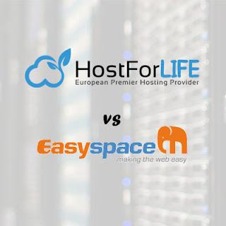 ASP.NET 4.6 Hosting Comparison - HostForLIFE.eu vs EasySpace