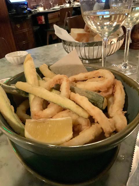 calamari and zucchini