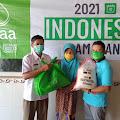 MAA International Australia Tebar Bantuan Ke Fakir Miskin 4 Desa Di Pemalang