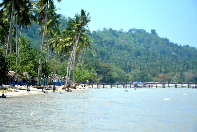 inilah Wisata pantai klara di provinsi lampung, bikin kamu ketagihan