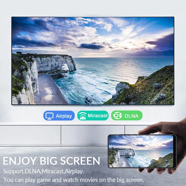 Android 10.0 TV BOX Allwinner H616 2.4G&5G Dual WiFi 4K 3D 32G 64G 128G H.265 Fast Set TV Receiver Media Player