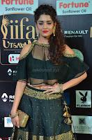 Ritika Singh in a Ethnic Deep Neck Dark Green Choli Ghagra at IIFA Utsavam Awards March 2017 ~ 010.JPG