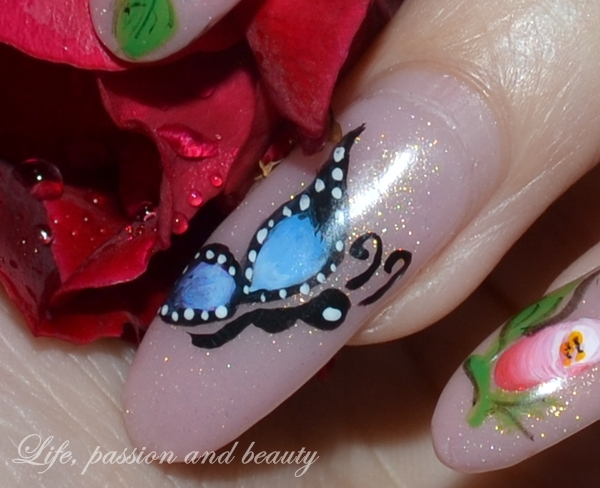 Nail Art Butterfly Fly Away Life Passion And Beauty