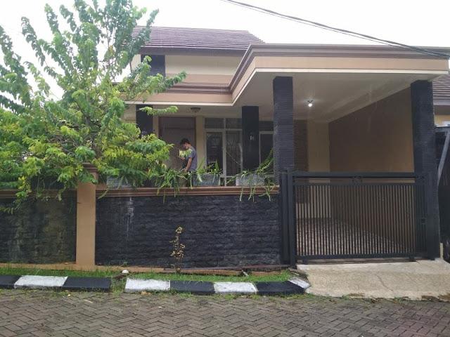 Jual rumah bukit cimanggu city Bogor Tanah Luas Posisi Hook