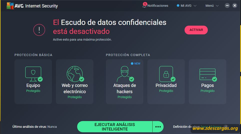 AVG Internet Security full español