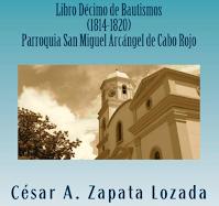 Libro Decimo Bautismos Cabo Rojo Genealogia