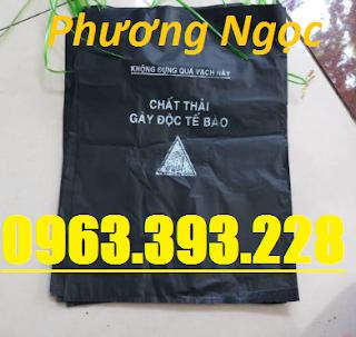 Túi đựng rác thải y tế, bao rác y tế, túi phân loại rác, bao đựng rác trong bệnh Tui-y-te1-1560740968