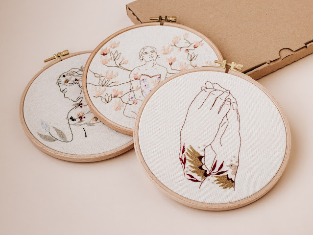 Kits broderie Marion Romain