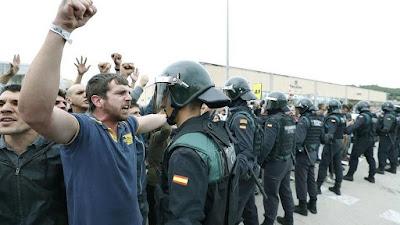 Guardia civil, asedio, cuarteles, odio, independencia, españa, cataluña