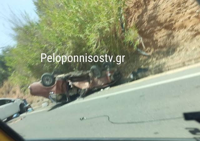 Τροχαίο δυστύχημα με ένα νεκρό στη Λακωνία