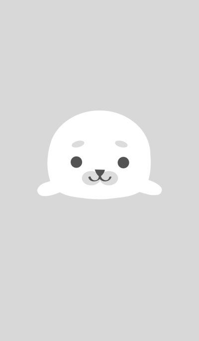 Simple cute seal
