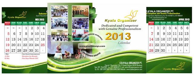 Iklan Kalender Promosi Perusahaan