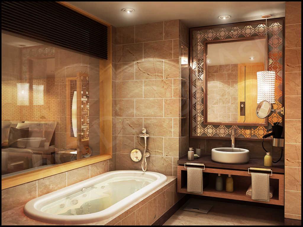 kamar-mandi-mewah-ala-hotel-berbintang-dengan-lampu-hias-gantung