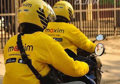 Cara Daftar Maxim motor Makassar