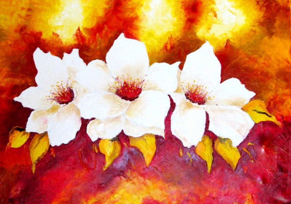 El Club Del Arte Latino Bodegones De Flores Pintados En Oleo
