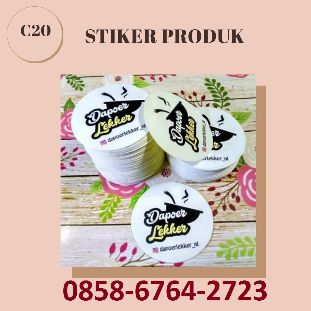 085867642723 Bikin Stiker Produk di Magelang - Yogyakarta