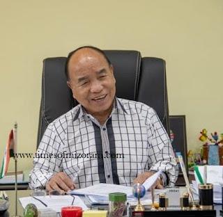 Mizoram Chief Minister
