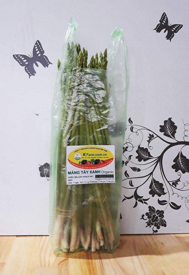 Măng tây xanh loại 1